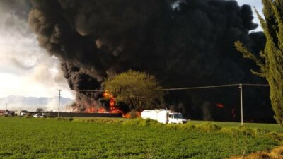 Tabasco: Pemex controla incendio en tanque de Dos Bocas