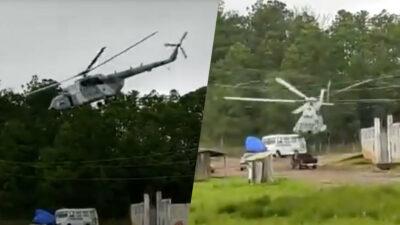 Se Desploma Helicoptero En Hidalgo 1