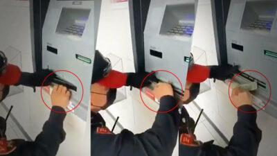 Colocan trampas en cajeros automáticos de CDMX y Edomex; detienen a cuatro
