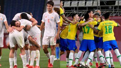 Brasil vs España: dónde y cuándo ver el partido por el oro de Tokio 2020