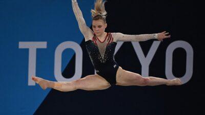 La gimnasta Jade Carey gana el oro olímpico en piso