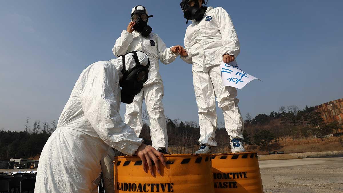 El agua de Fukushima fue filtrada varias veces para liberarse de la mayor parte de sustancias radioactivas. Foto: Getty Images   Ilustrativa