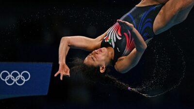 Gabriela Agúndez, clavadista mexicana, contenta con cuarto lugar