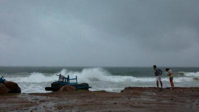 Tormenta Grace entra hoy como huracán a la península de Yucatán