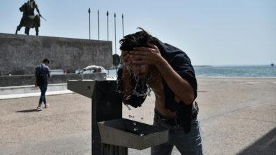 Grecia vive la peor ola de calor es más de 30 años