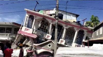 AMLO lamenta tragedia por sismo en Haití; ordena hacer esto