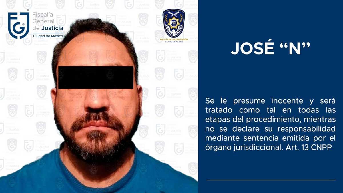 Detienen a hombre que formaba parte de un grupo delictivo en la Cuauhtémoc