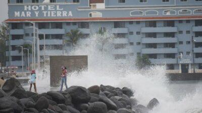 Huracán Grace en Veracruz: Así vivieron paso del fenómeno; causó estos estragos