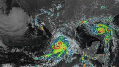 Huracán Nora toca tierra en costas de Jalisco; habrá lluvias fuertes a intensas