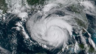 Huracán Ida: avión capta ojo de la tormenta en EU