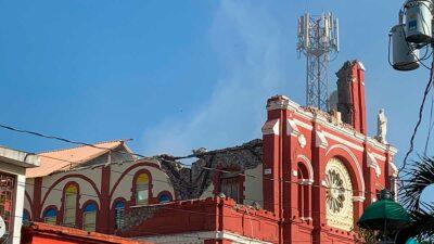 Sismo en Haití: Captan terremoto en plena misa