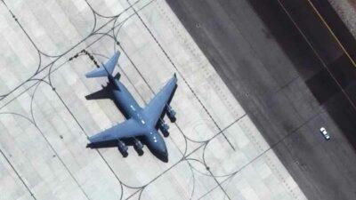 imágenes aeropuerto de Kabul