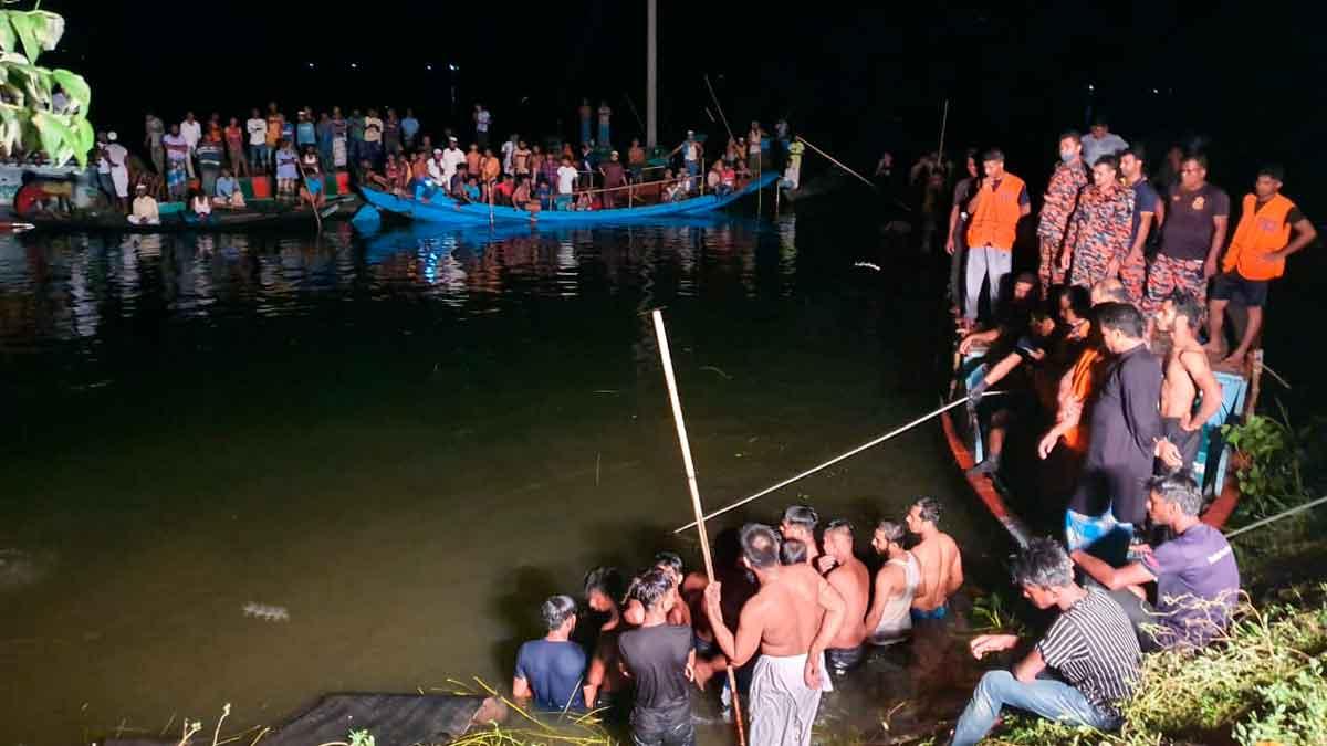 India: Choque de barcos provoca al menos 19 muertos