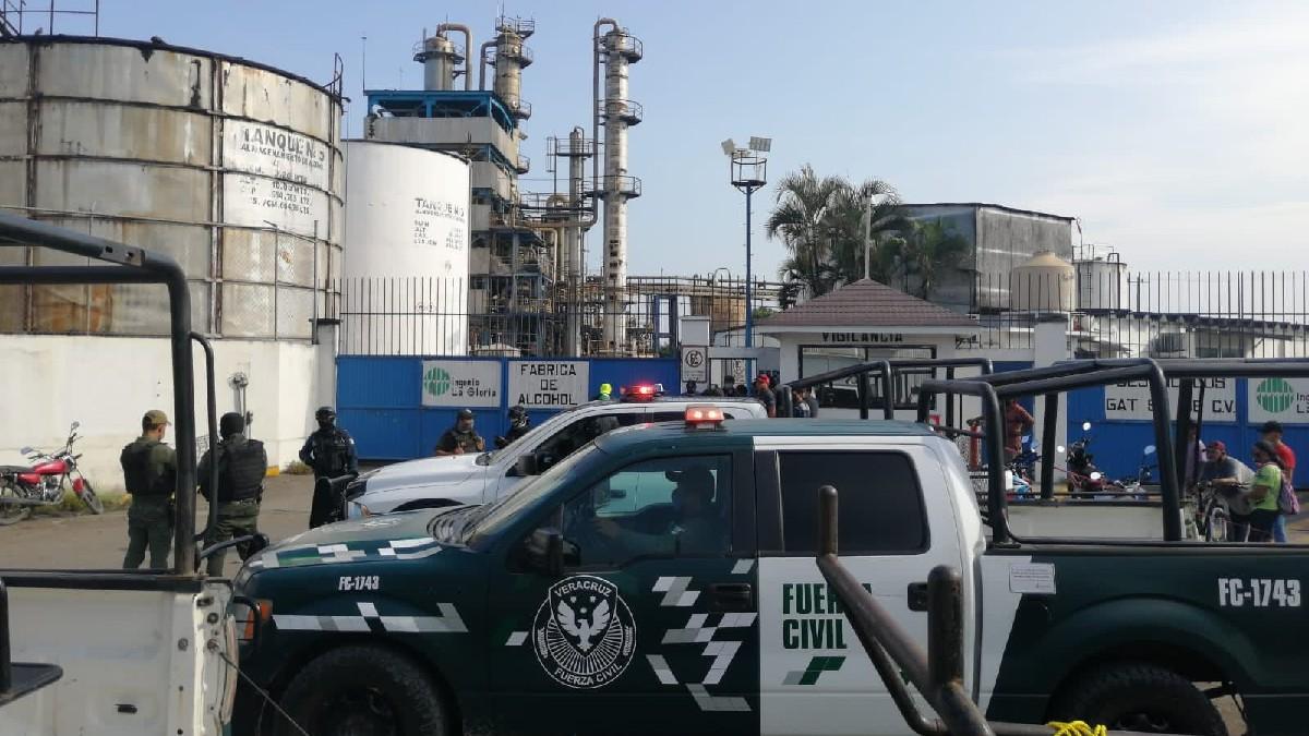 Veracruz: Explosión en Ingenio La Gloria deja una persona muerta
