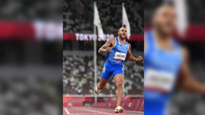 Lamont Marcell Jacobs gana oro en la prueba de 100 metros de Tokio 2020
