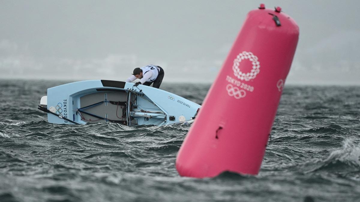 Juan Pérez queda en lugar 17 de velero en Tokio 2020