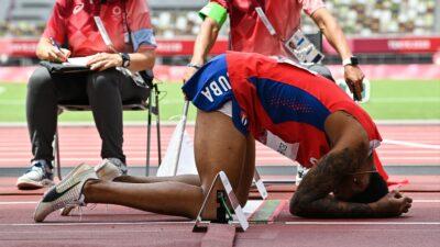 Drama cubano: Echevarría pierde el oro en salto por lesión de último minuto