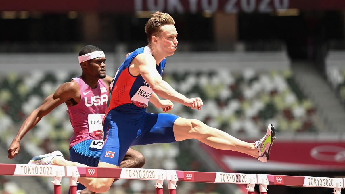 Karsten Warholm gana oro e impone récord mundial en 400 metros con vallas -  Uno TV