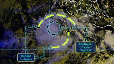 "Lluvias fuertes por ""Kevin"" en estos estados; mañana sería huracán"