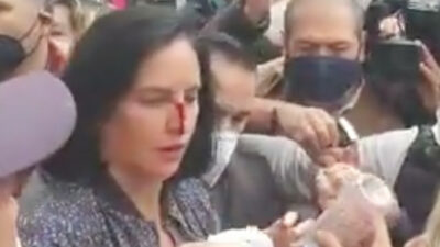 """""""Un policía me dio con el escudo"""": Lía Limón denuncia agresión y exige esto a Sheinbaum"""