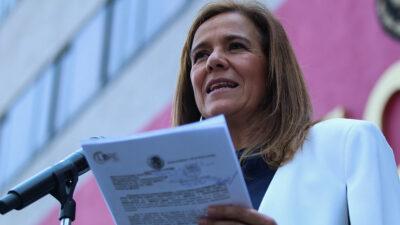 Margarita Zavala anuncia hackeo a su número de celular