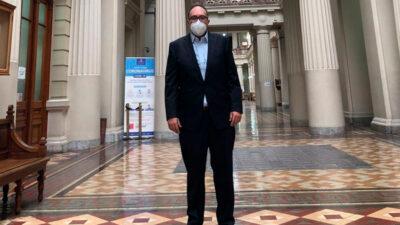 Mauricio Toledo se presenta voluntariamente ante tribunales chilenos