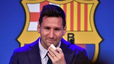 Messi despedida