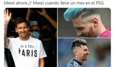 Messi Memes Psg
