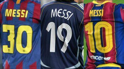Messi Número Psg