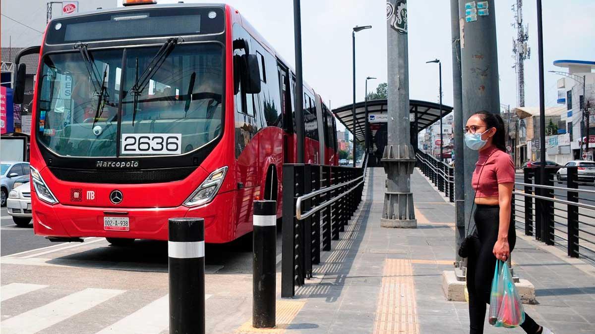 Línea 1 del Metrobús cerrará estaciones este domingo
