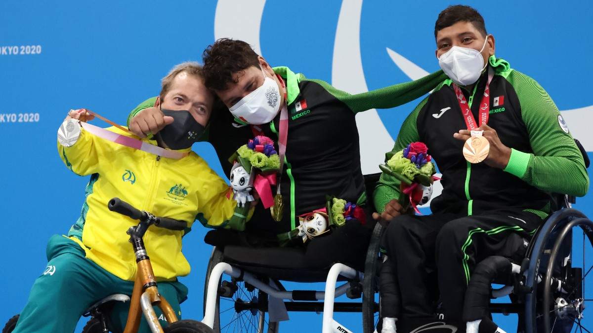 Mexico 300 Medallas Paralímpicos