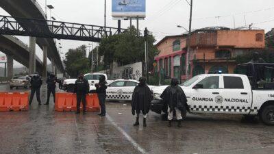 GN despliega operativo, revisa a motociclistas en la México-Cuernavaca