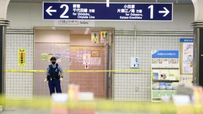 Tokio cuchillo tren