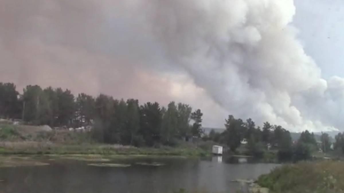 Incendios Rusia Putin