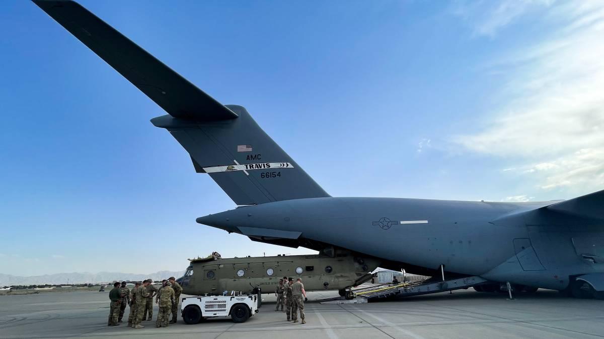 Estados Unidos invasión Afganistán