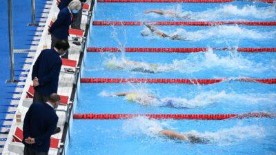natación récords