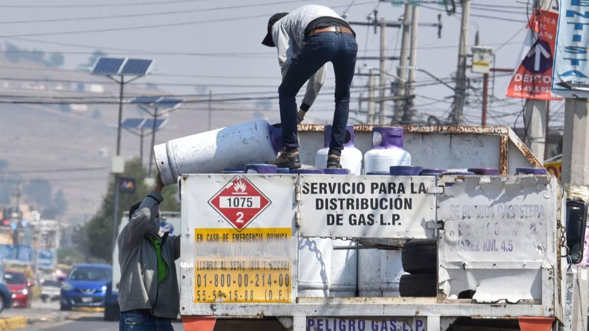 gaseros en Valle de México