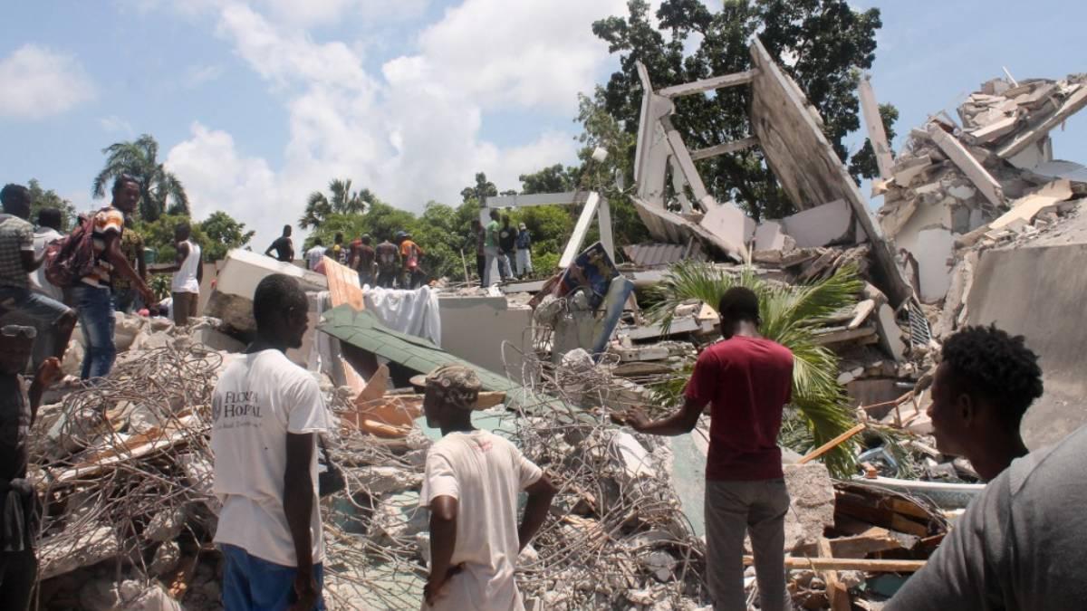 sobrevivientes Haití