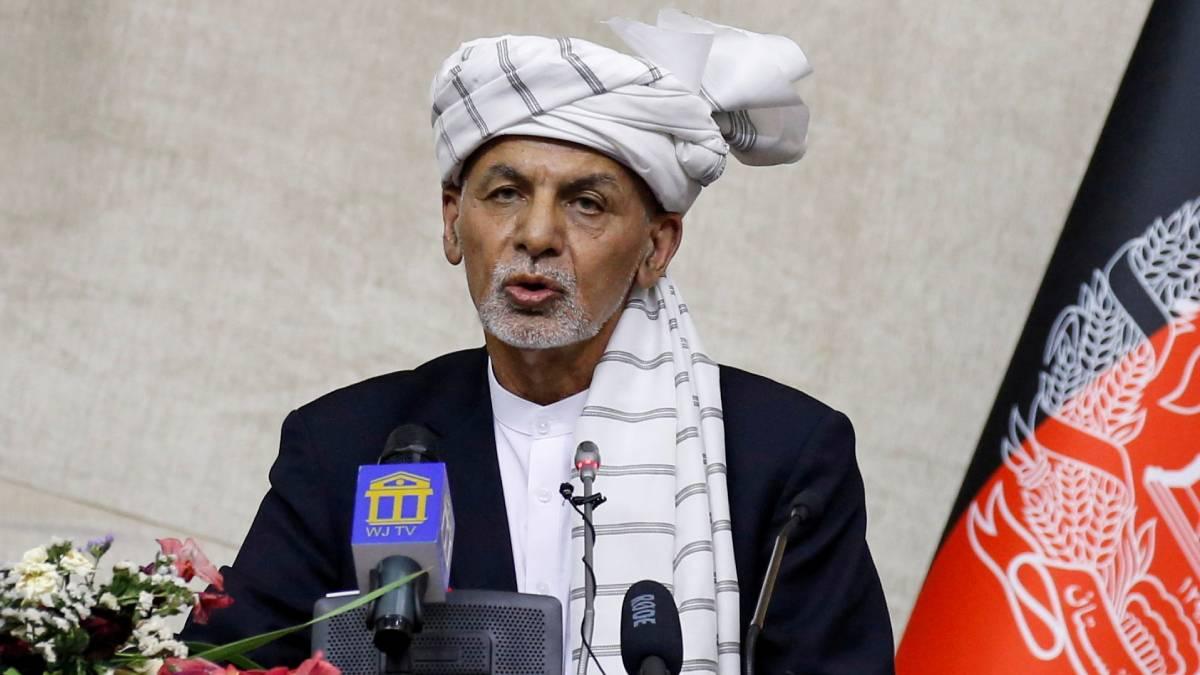 Ghani Afganistán Emiratos