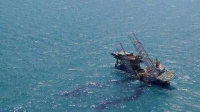 Campeche: Suman 5 muertos por incendio en plataforma de Pemex