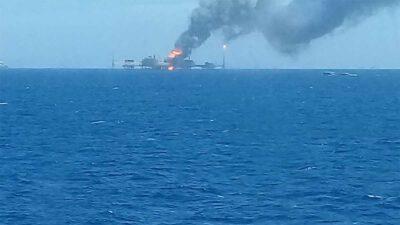 Pemex Explosion Campeche