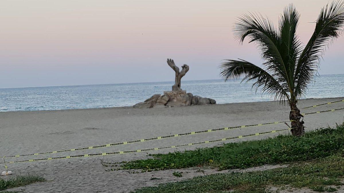 Oaxaca: Cierran playas en Puerto Escondido por COVID - Uno TV
