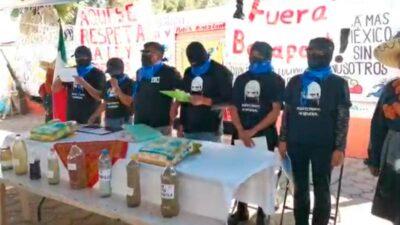 Puebla: pobladores toman planta de Bonafont desde hace 5 meses