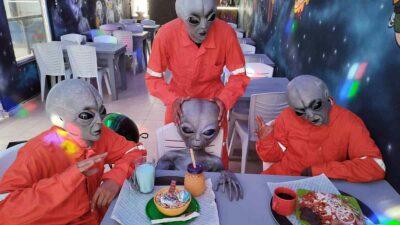 Tamaulipas: extraterrestres inspiran restaurante en Tampico