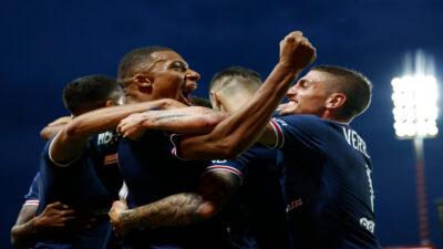 PSG golea el Brest 4-2 sin tener a Messi ni a Neymar