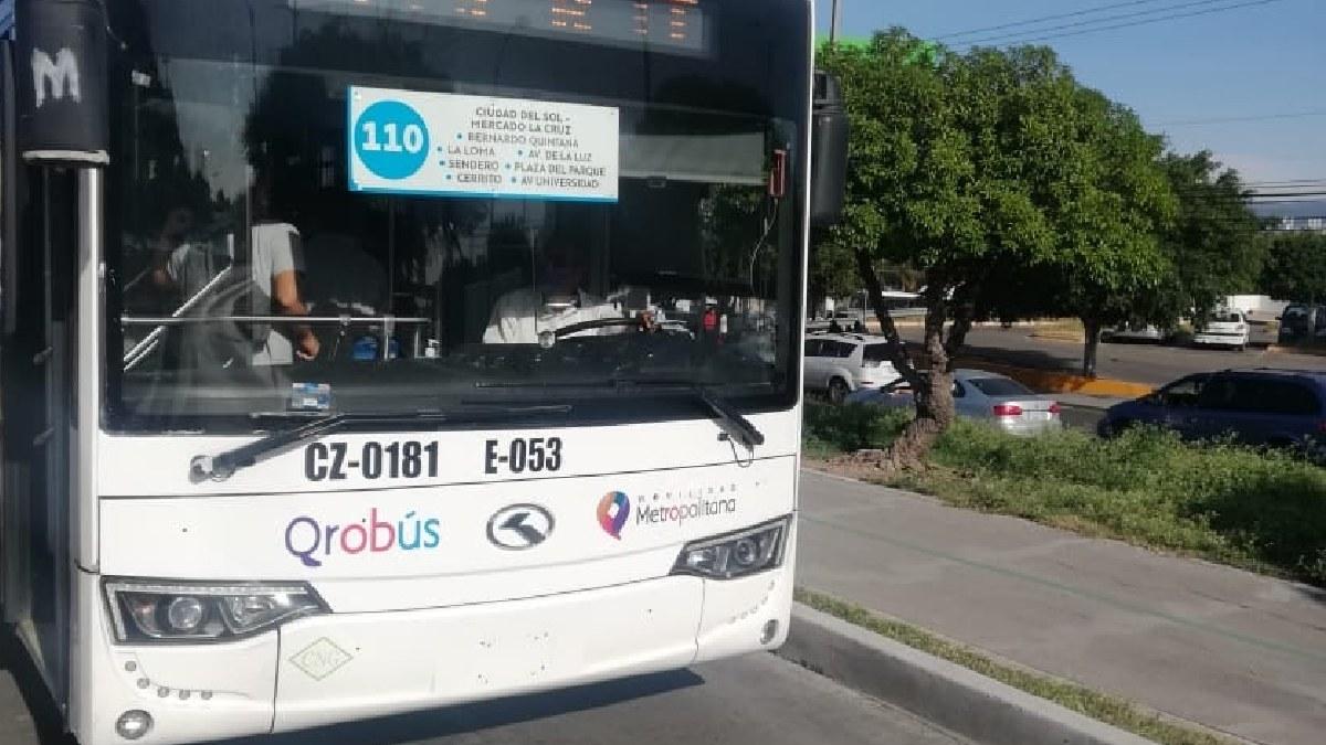 Qrobús modificará rutas 24, 53 y 77 desde el 12 de agosto 2021