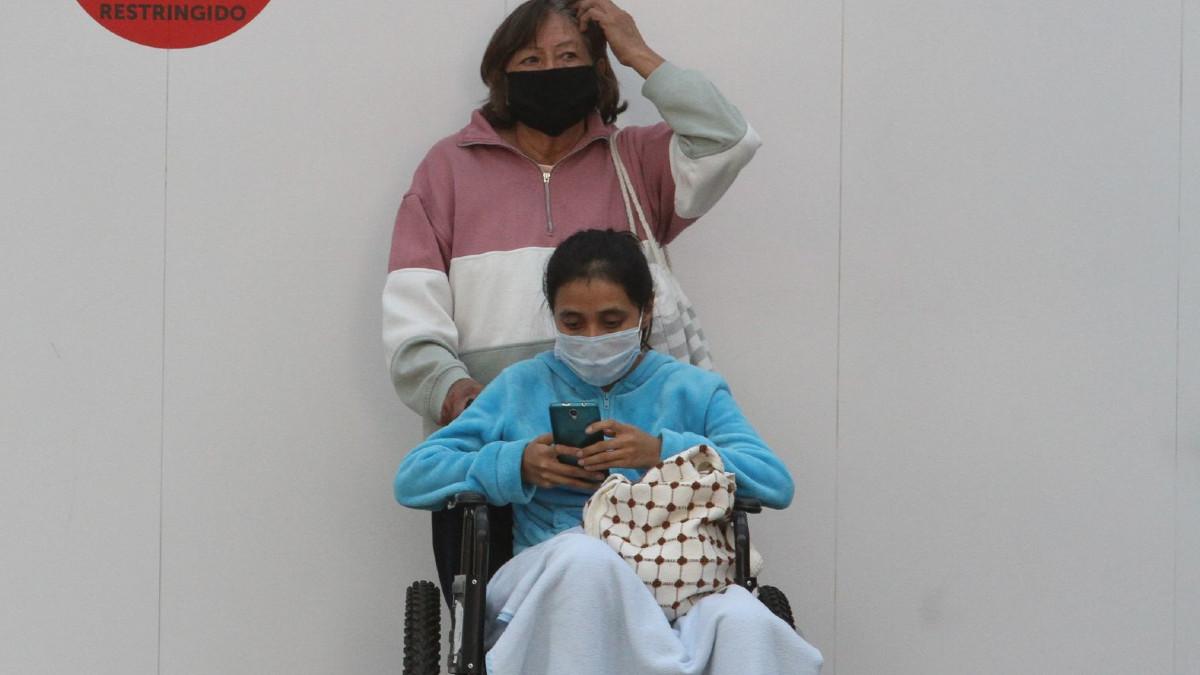 En Colombia, exhiben a mujer que vendaba a su hija para pedir limosna