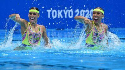 Mexicanas Nuria Diosdado y Joana Jiménez llegan a la final de nado sincronizado