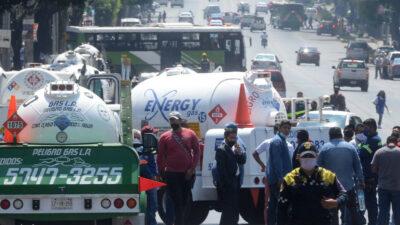 Continúa paro de gaseros; afecta a estos estados del centro de México