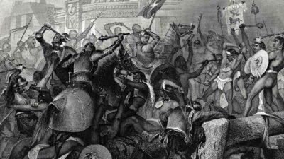 caída Tenochtitlán